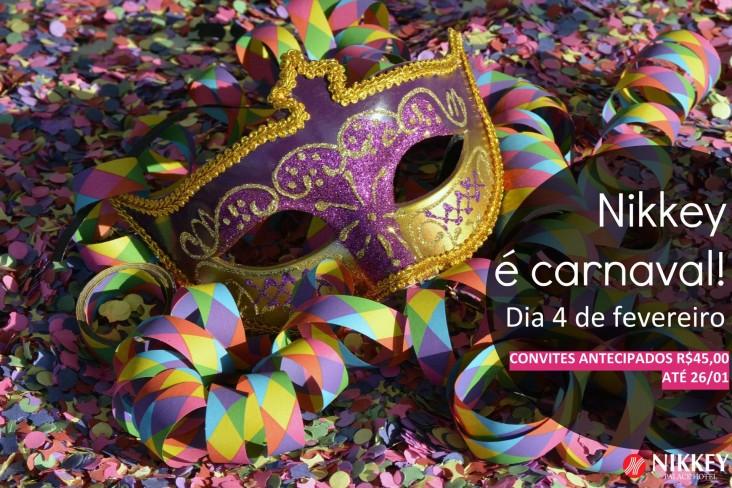 Nikkey é Carnaval