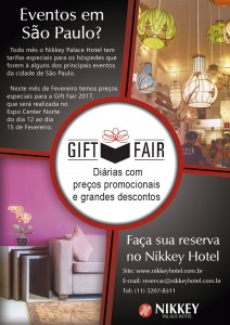 Preços exclusivos para Gift Fair