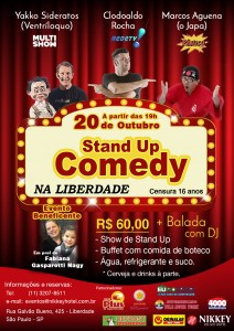 Stand Up no Nikkey Hotel