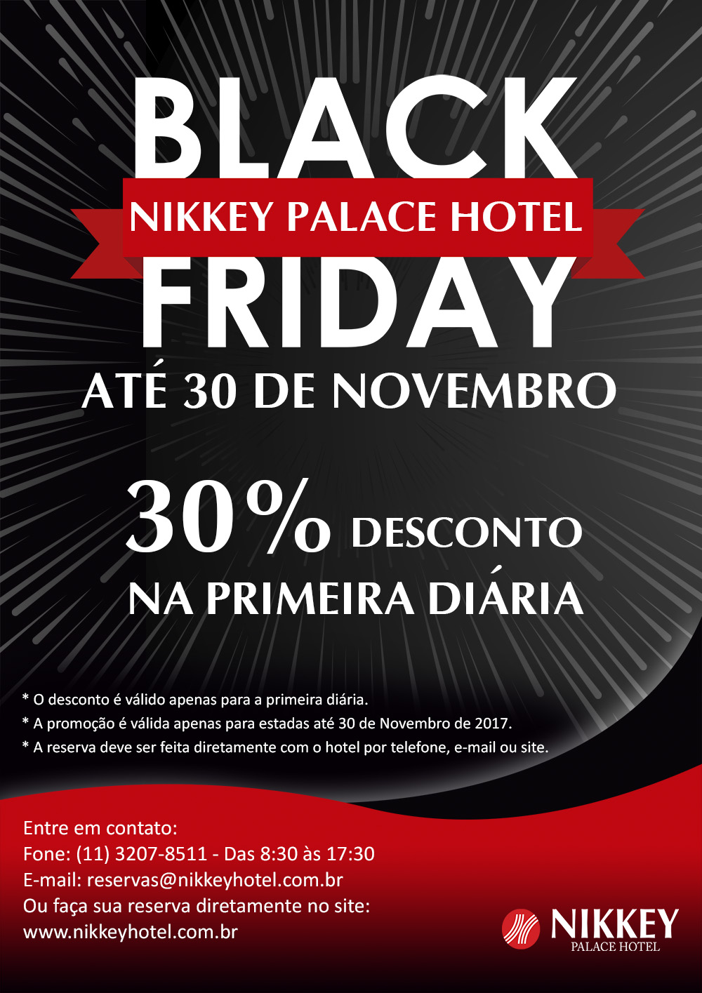 Black Friday hotel Nikkey